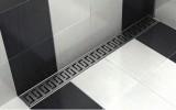 Podlahový- sprchový žlab KF s přírubou (sifón z PVC)