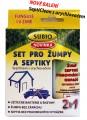 Zvětšit fotografii -  SET SUBIO SeptiClean pro žumpy a septiky 50g + urychlovač 80 ml
