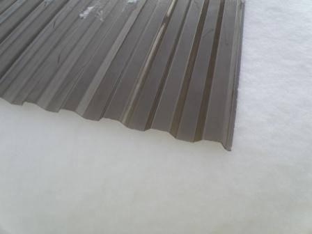 Polykarbonátové trapézové desky DECOPOL