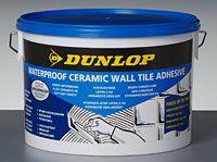 Lepidlo Dunlop Waterproof ceramic wall tile adhesive
