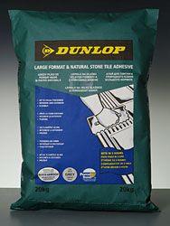 Lepidlo Dunlop Large format & natural stone tile adhesive