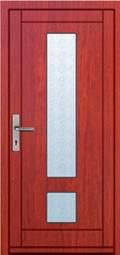 Vchodové dveře rámové Tredo Luxus - Masivní vchodové dveře rámové Tredo LUXUS 018