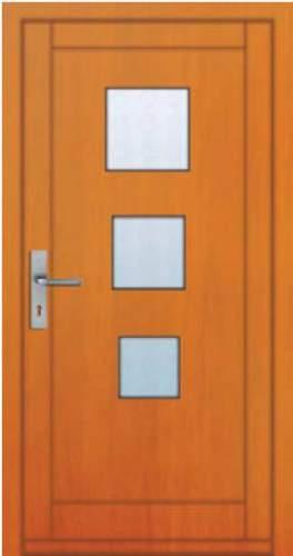 Vchodové dveře rámové Tredo Luxus - Masivní vchodové dveře rámové Tredo LUXUS 006