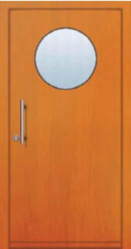 Vchodové dveře rámové Tredo Luxus - Masivní vchodové dveře rámové Tredo LUXUS 010