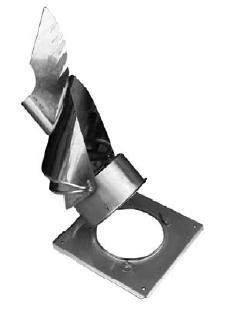 Komínová hlavice Rotowent DRAGON (s odklápěcí základnou)