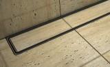 Podlahový - sprchový žlab s keramickým obkladem - sifon PVC