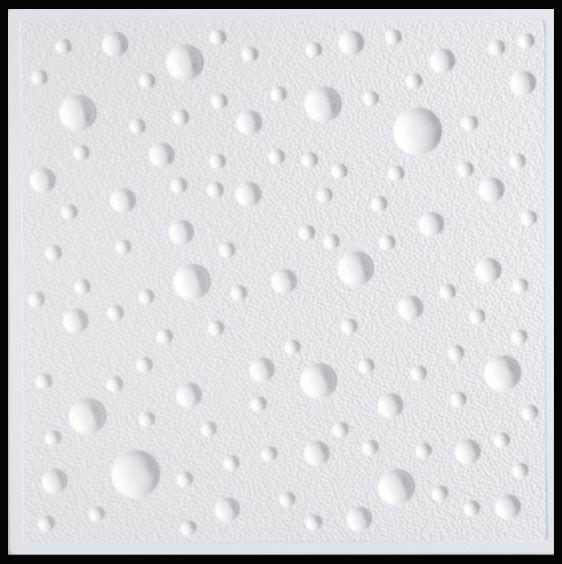 Plastový stropní podhled - BUBLINKY