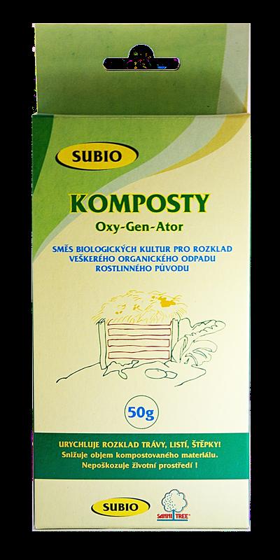 Subio KOMPOSTY OxyGenAtor - urychlovač kompostu