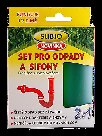 SUBIO SET pro ODPADY-SIFONY s urychlovačem