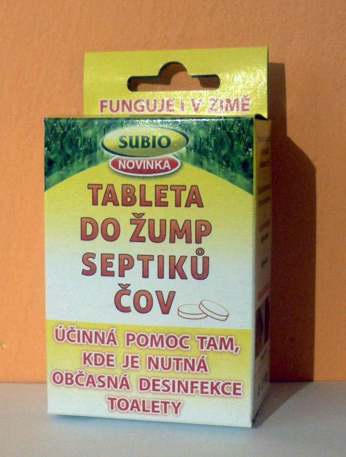 SUBIO Tableta žump, septiků a ČOV - FREE FLO PILLS