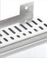Sprchový odtokový žlab KWF s nástěnnou přírubou (plastový sifon)