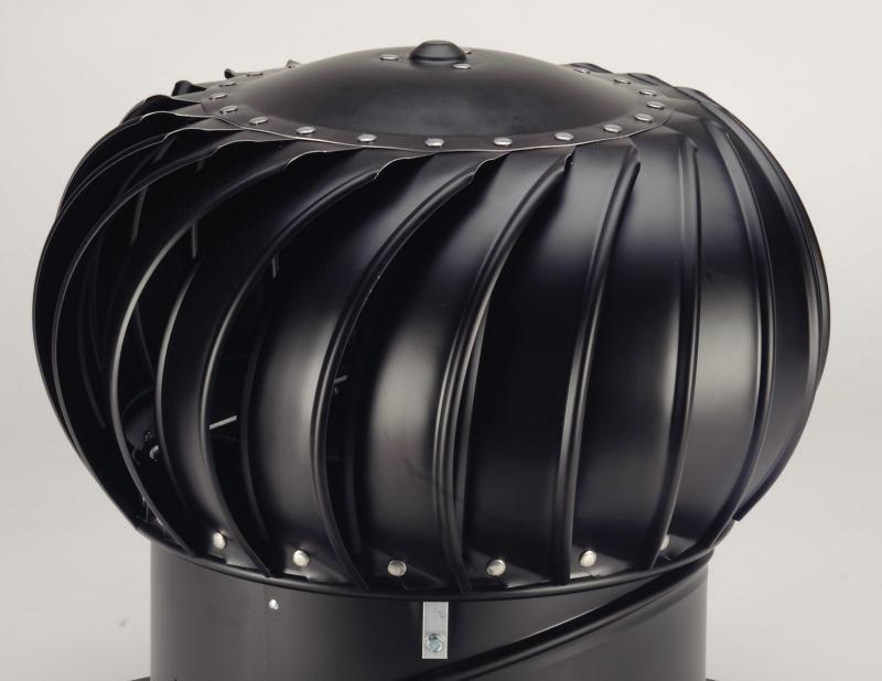 Ventilační turbína Lomanco TIB 12 - samotná hlavice černá