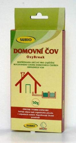 SUBIO OxyBreak - domovní ČOV 50 g