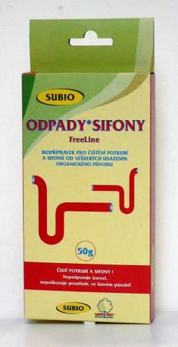 SUBIO Free Line pro odpady a sifony 50 g