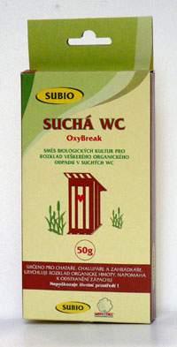SUBIO OxyBreak přípravek pro suchá WC 50g