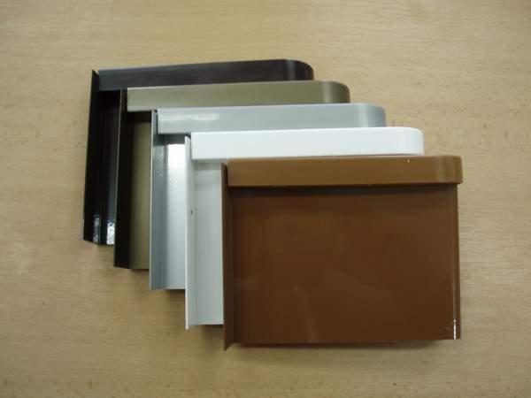 Venkovní parapet hliník tažený - vnitřní parapetní deska hliník tažený