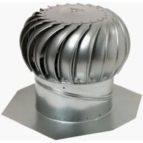 Ventilační turbína Lomanco pozink GT 12 komplet