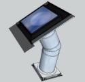 Tubusový světlovod Sunizer SP-H24LED 530 - hranatý difuzér