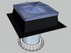 Tubusový světlovod Sunizer RF 430 - kulatý difuzér