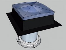 Tubusový světlovod Sunizer RF-H24LED 230 - kulatý difuzér