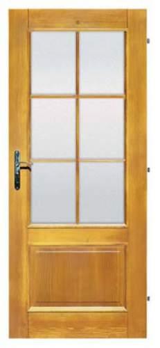 Vnitřní masivní dveře rámové Tredo Popular - Vnitřní dveře rámové Tredo Popular Adéla II