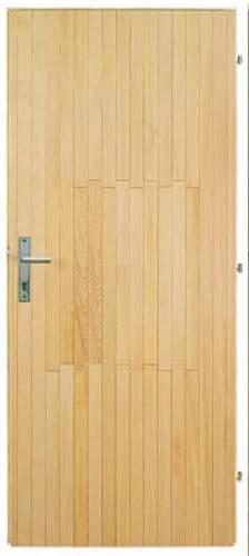 Vchodové dveře Tredo palubkové