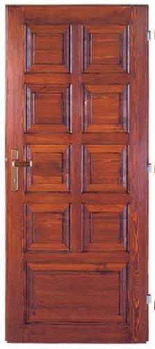 Vchodové dveře rámové Tredo Optimal 52 mm