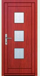 Vchodové dveře rámové Tredo Luxus - Masivní vchodové dveře rámové Tredo LUXUS 005