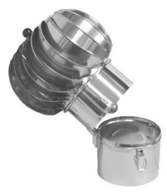 Komínová hlavice Turbowent (samostatná hlavice)